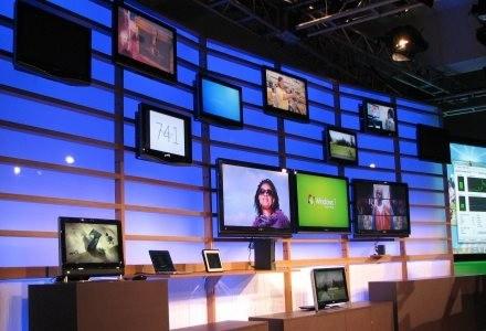 Komputery oraz telewizory (sic !) współpracujące z Windows 7 /INTERIA.PL