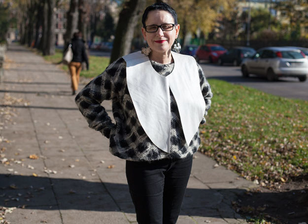 - Komu wypada, jak nie nam?! - pyta Jaga /Fashion50plus/Photopolka /archiwum prywatne