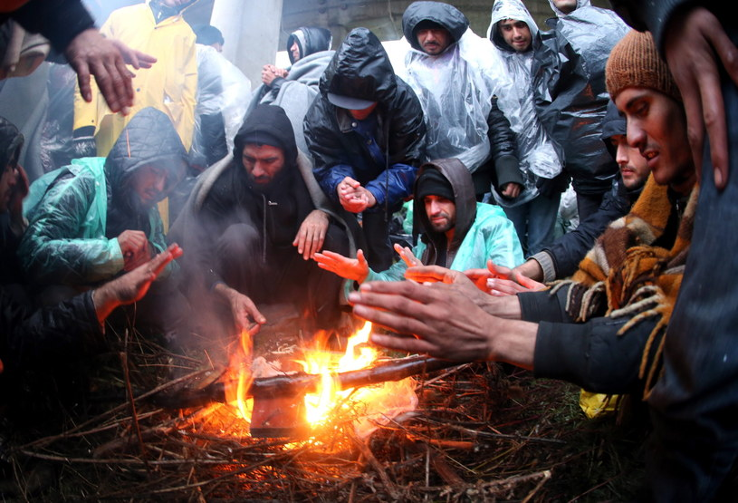 Końca kryzyu migracyjnego nie widać /PAP/EPA