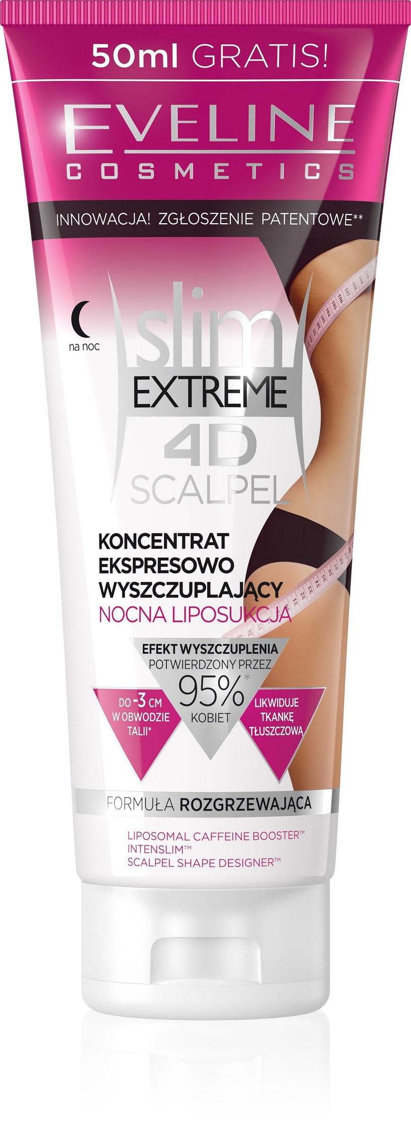 Koncentrat ekspresowo wyszczuplający nocna liposukcja od Eveline Cosmetics /INTERIA/materiały prasowe