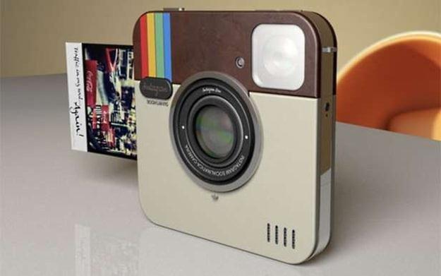 Koncepcja aparatu dla użytkowników Instagramu /materiały prasowe