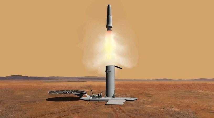 Koncepcja prostej misji sample return /NASA