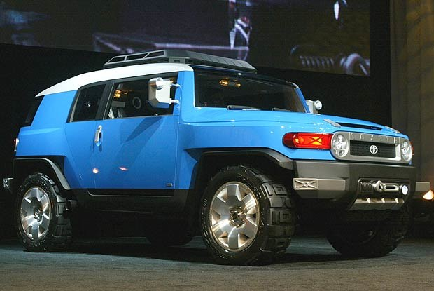 Koncepcyjna Toyota FJ Cruiser (kliknij) /INTERIA.PL