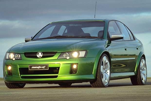 Koncepcyjny Holden SSX (kliknij) /INTERIA.PL
