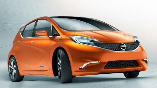 Koncepcyjny Nissan Invitation - zapowiedź nowego Note'a. /Nissan