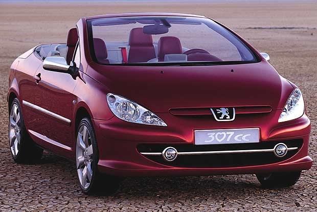 Koncepcyjny Peugeot 307cc (kliknij) /INTERIA.PL