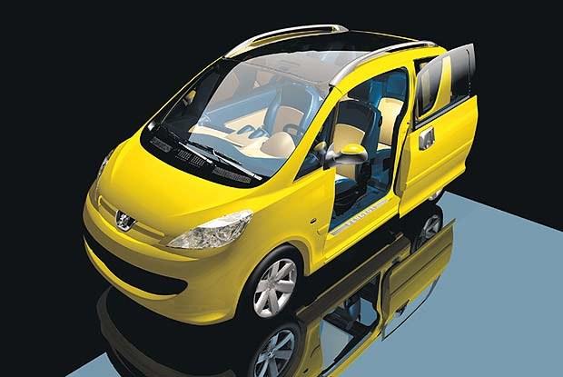 Koncepcyjny Peugeot Sesame (kliknij) /INTERIA.PL