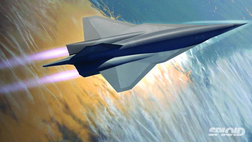 Koncepcyjny samolot hipersoniczny SR-72 /materiały prasowe