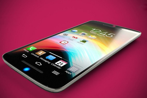 Koncept LG G2 Pro /materiały prasowe