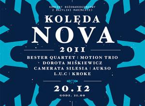 Koncert Kolęda Nova - 20 grudnia w Krakowie  /materiały prasowe