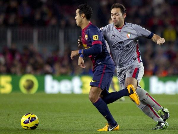 Barcelona - Osasuna 5-1
