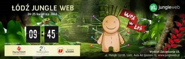 Konferencja Łódź Jungle Web 2014 - 24 i 25 kwietnia  w Łodzi /materiały prasowe