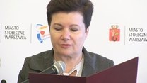 Konferencja na temat obchodów rocznicy wybuchu Powstania Warszawskiego (27.07.2016) (TV Interia)