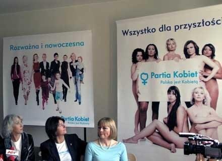 Konferencja Partii Kobiet /INTERIA.PL