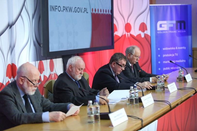 Konferencja PKW /Leszek Szymański /PAP