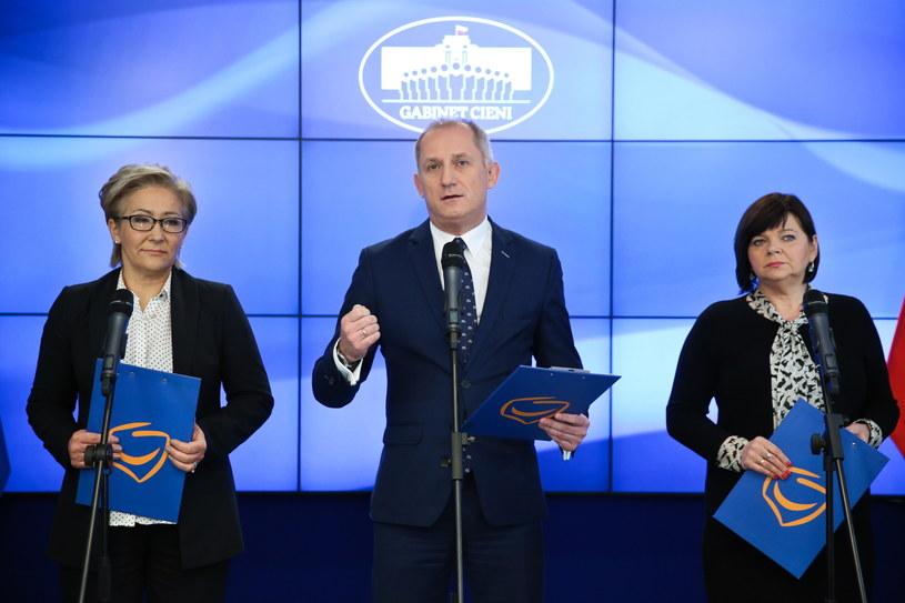 Konferencja posłów PO /Rafał Guz /PAP