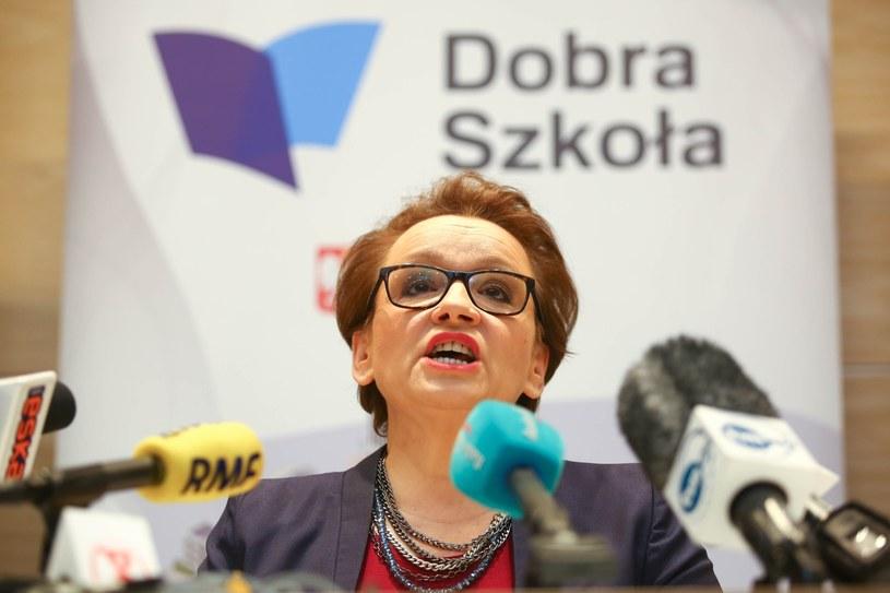 Konferencja prasowa minister edukacji nt. Reformy edukacji; zdj. ilustracyjne /Piotr Hukalo /East News