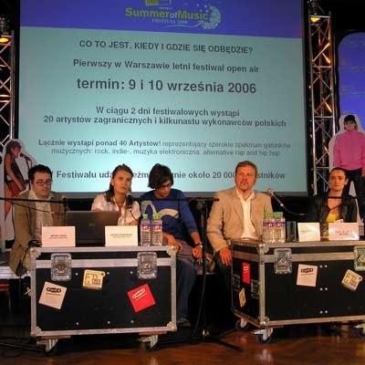 Konferencja prasowa organizatorów festiwalu /INTERIA.PL