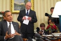 Konferencja prasowa po spotkaniu Baracka Obamy z Bronisławem Komorowskim