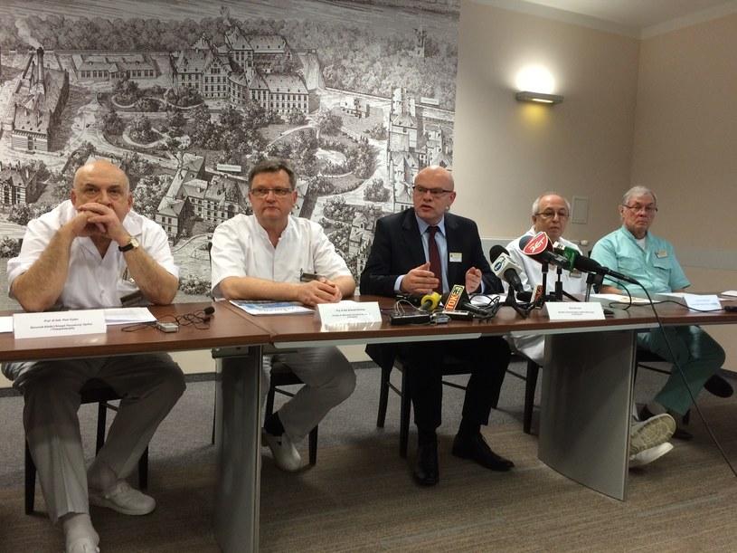 Konferencja prasowa w sprawie kary dla szpitala /Bartłomiej Paulus /RMF FM