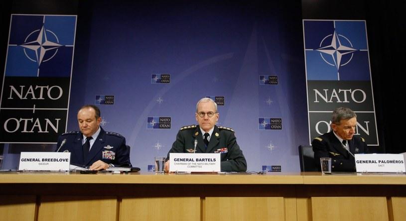 Konferencja szefów sztabów generalnych i obrony państw NATO /PAP/EPA