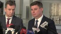 Konfernecja PO o metodach działania ministra Błaszczaka i wypadku kolumny rządowej (TV Interia)
