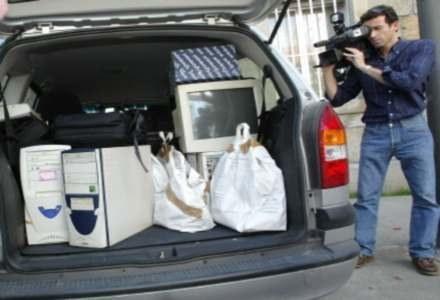 Konfiskata komputerów pedofilii w Hiszpanii /AFP