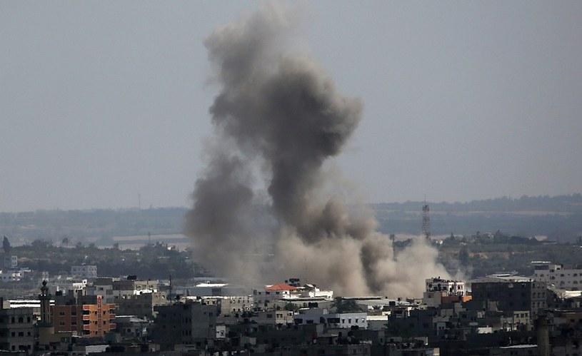 Konflikt w Strefie Gazy narasta /PAP/EPA