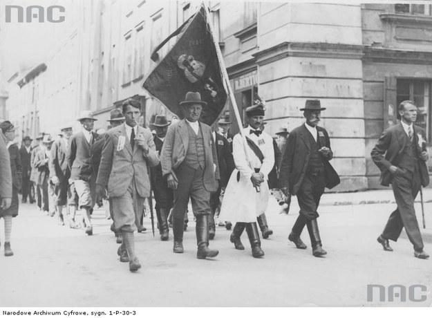 Kongres Centrolewu w Krakowie, 1930 rok /NAC /Z archiwum Narodowego Archiwum Cyfrowego