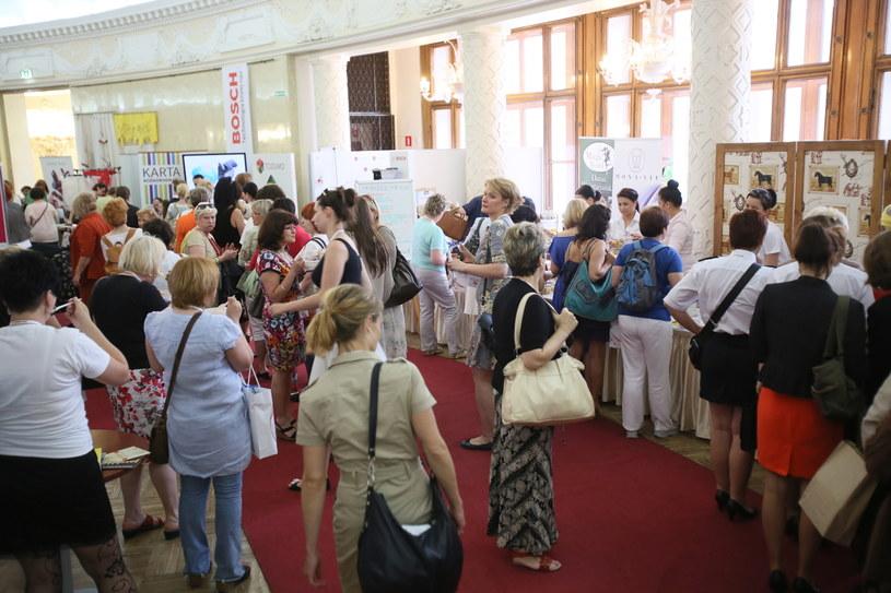 Kongres Kobiet w Warszawie /Leszek Szymański /PAP