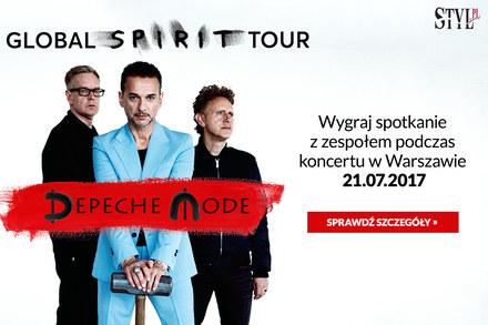 Konkurs Depeche Mode – spotkaj się z zespołem!