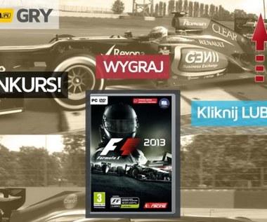 Konkurs - F1 2013