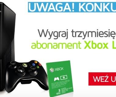 Konkurs: Trzy miesiące z Xbox Live za darmo