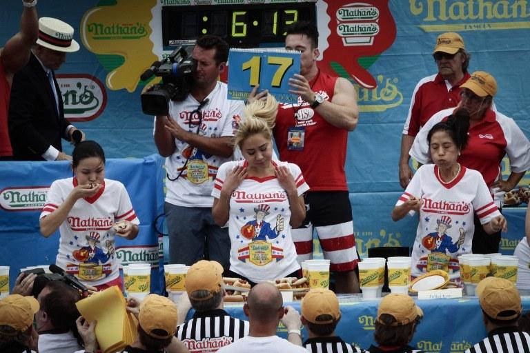 Konkurs w Nowym Jorku /AFP