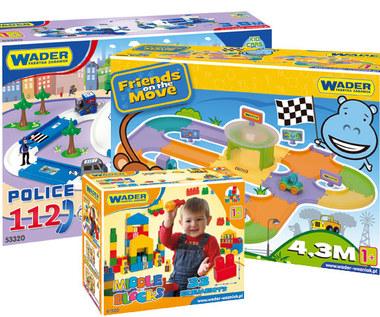 Konkurs z zabawkami WADER!