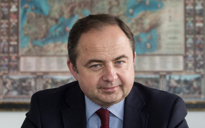 Konrad Szymański, sekretarz stanu ds. europejskich /Robert Kowalewski /&nbsp