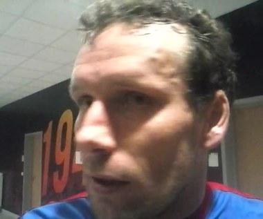 Konstantin Wasiljew po meczu Piasta z Lechem. Wideo