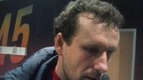Konstantin Wasiljew po meczu z Cracovią (1-0). Wideo