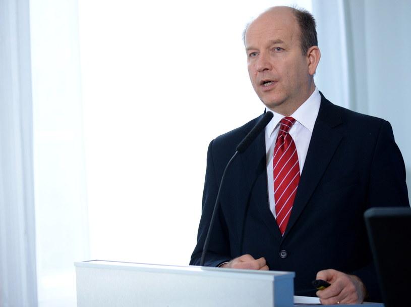 Konstanty Radziwiłł, minister zdrowia /Jacek Turczyk /PAP