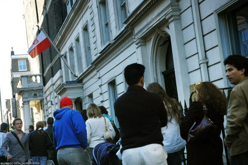Konsulat Generalny Rzeczypospolitej Polskiej w Londynie /LUKASZ OSTALSKI/REPORTER /East News