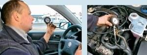 Kontrola ciśnienia /Motor