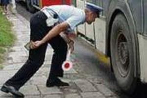 Kontrolują autobusy
