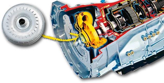 Konwerter automatycznej skrzyni /Motor