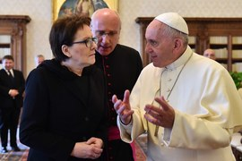 Kopacz na audiencji u papieża Franciszka