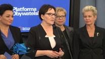 Kopacz (PO) o zmianach w rządzie PiS (TV Interia)