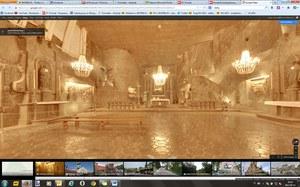 """Kopalnia Soli """"Wieliczka"""" w specjalnej kolekcji UNESCO na Google Street View"""
