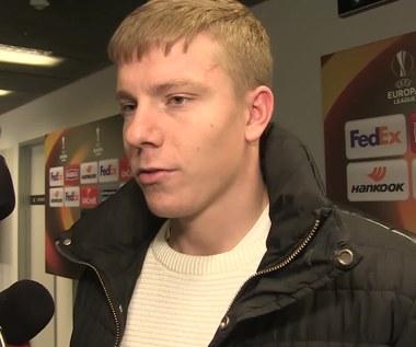 Kopczyński po 0-0 z Ajaksem. Wideo