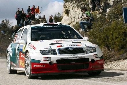 Kopecky w fabii WRC (inny egzemplarz) /INTERIA.PL