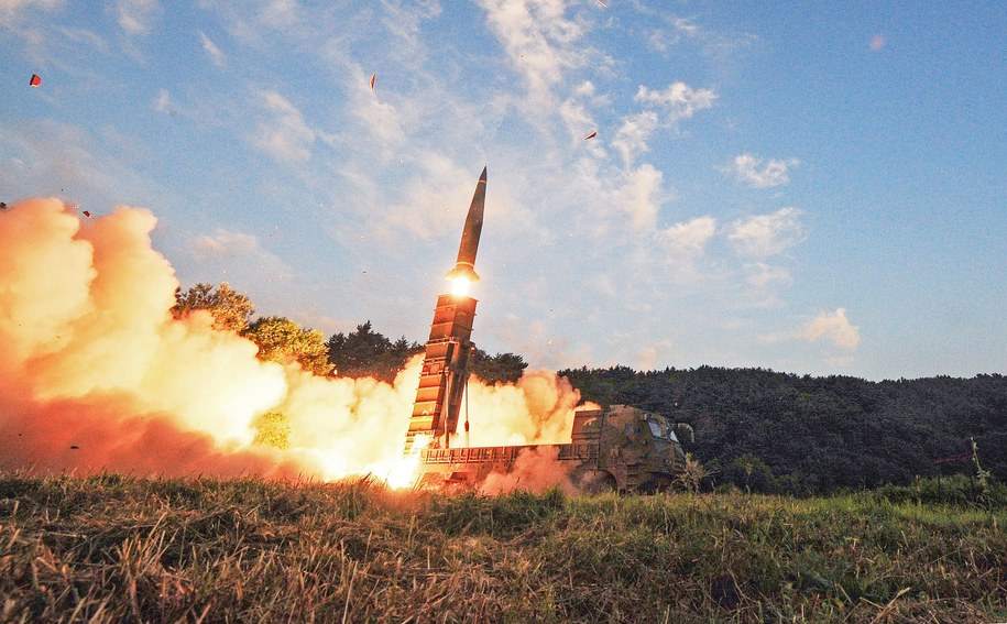 Korea Płn. mogła zminiaturyzować ładunek nuklearny /SOUTH KOREA DEFENSE MINISTRY / H /PAP/EPA