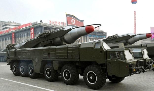 Korea Północna wystrzeliła dziś rano kolejne rakiety krótkiego zasięgu. /AFP
